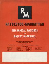 1958 Raybestos-Manhattan-Mechanical Packings and Gasket Materials-Catalog