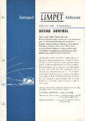 1961 Turner & Newall Sprayed LIMPET Asbestos Sound Control