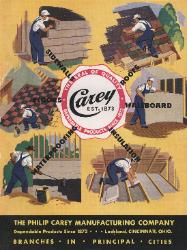 1942 The Philip Carey Manufacturing Company ASBESTOS