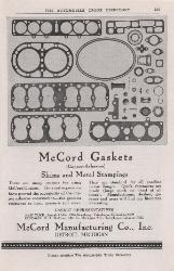1919 McCord Manufacturing Co., Inc. ASBESTOS
