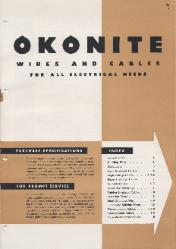 1949 The Okonite Company ASBESTOS
