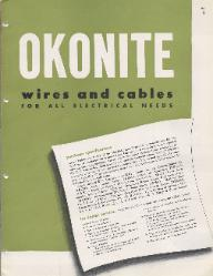 1947 The Okonite Company ASBESTOS